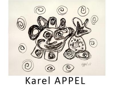 Karel Appel Artist Galerie Mickaël Marciano