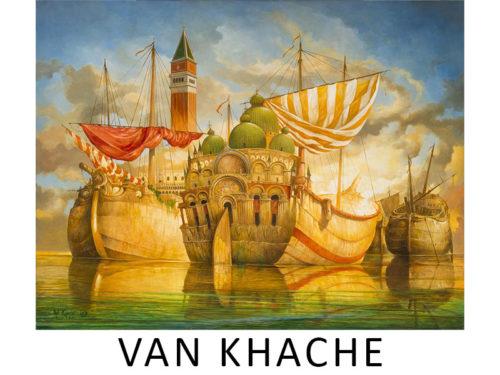 Artist Van Khache Galerie Mickaël Marciano